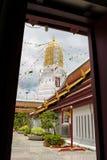 De tempel van Phrasi Rattana Mahathat Stock Foto