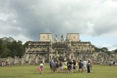 De tempel van pijlers Royalty-vrije Stock Afbeelding
