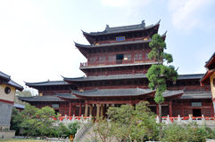 De Tempel van Pilu, Nanjing, China Royalty-vrije Stock Foto