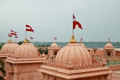 De tempel van Poichaswaminarayan dham - India Stock Afbeelding