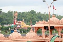 De tempel van Poichaswaminarayan dham - India Royalty-vrije Stock Foto's