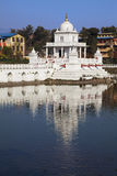 De Tempel van Pokhari van ranien, Katmandu, Nepal Stock Foto
