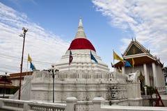 De tempel van Poramaiyikawas van Wat, Pak kret, Nonthaburi Royalty-vrije Stock Foto