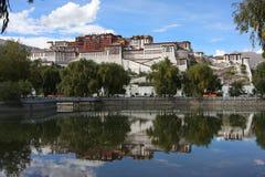 De tempel van Potala Royalty-vrije Stock Afbeelding