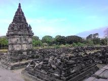 De tempel van Prambanan Royalty-vrije Stock Afbeelding