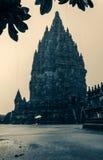 De tempel van Prambanan Stock Foto