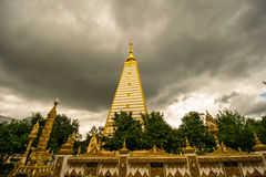 De tempel van Pratatnonbou stock foto