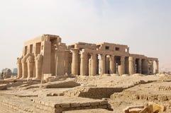 De tempel van Ramasseum, Luxor stock afbeelding