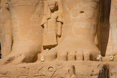De Tempel van Ramses II royalty-vrije stock foto