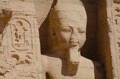 De Tempel van Ramses II royalty-vrije stock afbeelding