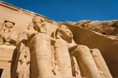 De Tempel van Ramses II stock fotografie