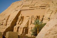 De Tempel van Ramses II royalty-vrije stock afbeeldingen