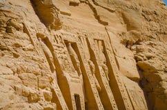 De Tempel van Ramses II stock foto's