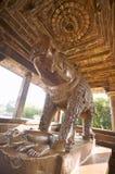 De tempel van Ranakpur jain, India stock afbeeldingen