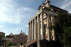 De tempel van Romeinen Royalty-vrije Stock Fotografie