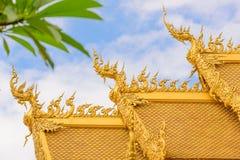 De tempel van Rong Khun van Wat Stock Afbeelding