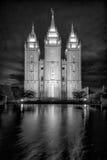 De Tempel van Salt Lake Stock Foto