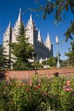 De Tempel van Salt Lake City Royalty-vrije Stock Fotografie