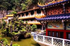 De Tempel van SAM Poh Tong Stock Afbeeldingen