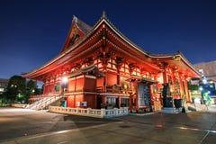 De Tempel van Sensoji stock foto's