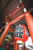 De Tempel van Sensoji Stock Foto