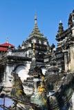 De tempel van Shan in Thailand Stock Foto's