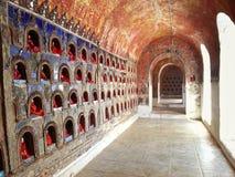 De Tempel van Shweyaungwe Kyaung stock afbeeldingen