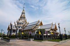De Tempel van Sothorn bij provincie Chachoengsao Royalty-vrije Stock Foto