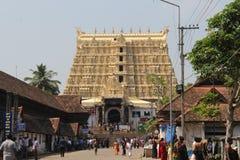 De Tempel van Sreepadmanabhaswamy royalty-vrije stock afbeeldingen