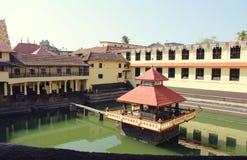De tempel van Srikrishna matha - Udupi, Karnataka, India royalty-vrije stock foto
