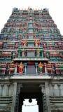 De tempel van Srikshetra in Sringeri, Chikkamagaluru in karnataka royalty-vrije stock fotografie