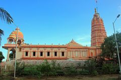 De Tempel van Srivittala Panduranga, Tamilnadu, India stock foto's