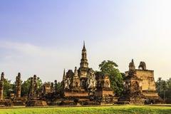 De tempel van Sukhothai van Thailand Royalty-vrije Stock Foto