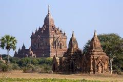 De Tempel van Sulamani - Bagan - Myanmar stock afbeelding