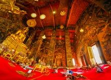 De tempel van Suthatwat royalty-vrije stock foto's