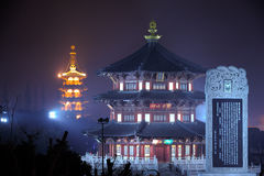 De Tempel van Suzhouhanshan Royalty-vrije Stock Afbeelding