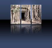 De tempel van Ta Prohm Stock Foto's