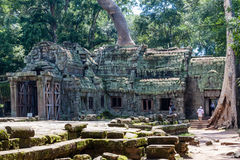 De Tempel van Ta Prohm, Anghor Royalty-vrije Stock Foto