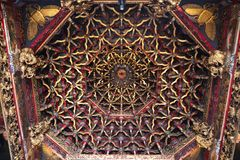 De Tempel van Taipeh Longshan royalty-vrije stock foto's