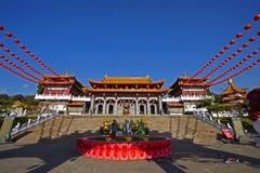 De Tempel van Taiwan Wenwu Stock Foto