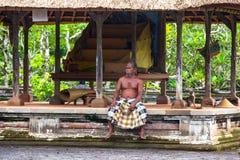 De Tempel van Tamanayun van Mengwi-Imperium, Bali, Indonesië - Maart 201 royalty-vrije stock fotografie
