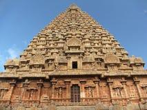 De tempel van Tanjore Stock Afbeelding