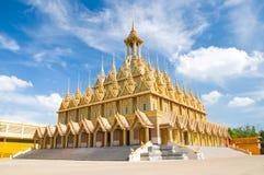 De tempel van Tasung van Wat, authaitanee Thailand Royalty-vrije Stock Fotografie