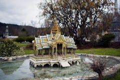 De tempel van Thailand Stock Afbeelding