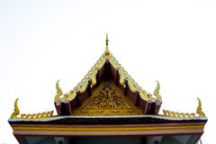 De tempel van Thailand Royalty-vrije Stock Afbeeldingen