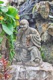 De Tempel van Thailand Bangkok van Doende leunen Boedha (Wat Pho) Stock Afbeelding