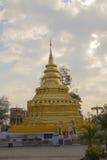 De Tempel van Thailand, pagode in Chiang Mai, Thailand Royalty-vrije Stock Afbeeldingen