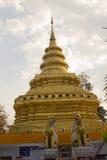 De Tempel van Thailand, pagode in Chiang Mai, Thailand Royalty-vrije Stock Foto's