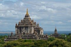 De Tempel van Thatbyinnyu, Bagan, Myanmar Royalty-vrije Stock Fotografie
