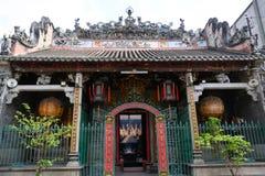 De Tempel van Thienhau, Ho Chi Minh City of Saigon, Vietnam royalty-vrije stock fotografie